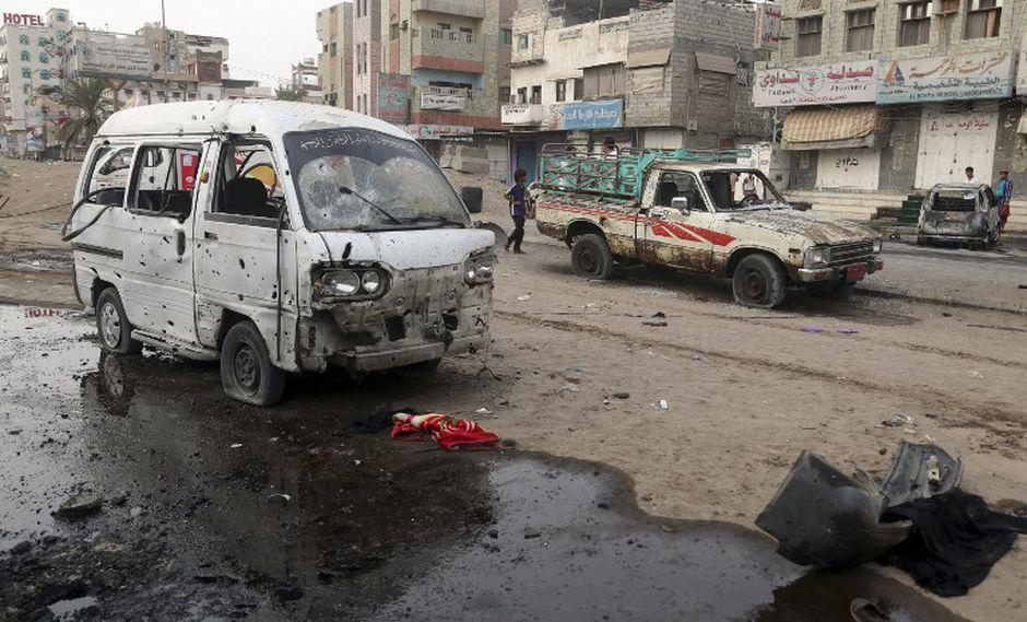 """La televisión de los rebeldes hutíes, que controlan la zona donde se registró el ataque, afirmó que 39 personas murieron y 51 resultaron heridas, """"en su mayoría niños"""". (Foto: AFP)"""