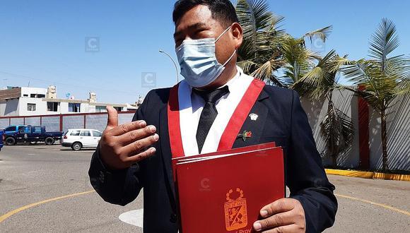 Héctor Maquera es el actual presidente de la Comisión de Fiscalización del Congreso. (Foto: Congreso de la República)