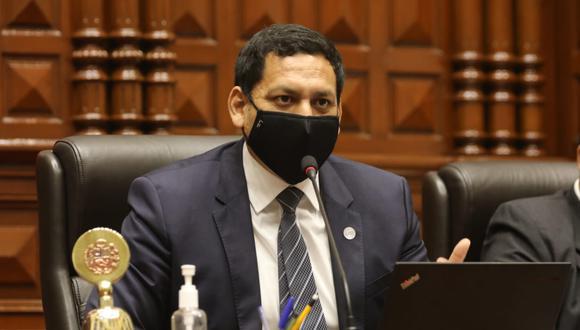 El parlamentario señaló que su bancada está abierta a recibir las observaciones del Ejecutivo sobre el proyecto de la ONP.