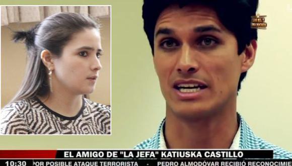 Arturo Bobbio negó ser el amante de Katiuska del Castillo. (USI/Reporte Semanal)