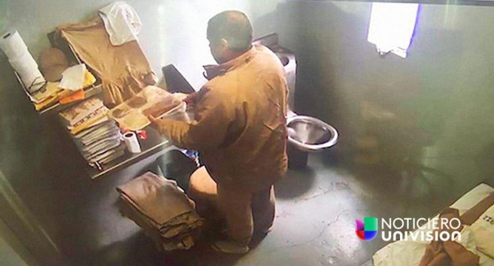 Imágenes inéditas de la extradición de Joaquín 'El Chapo' Guzmán difundidas por Univisión.