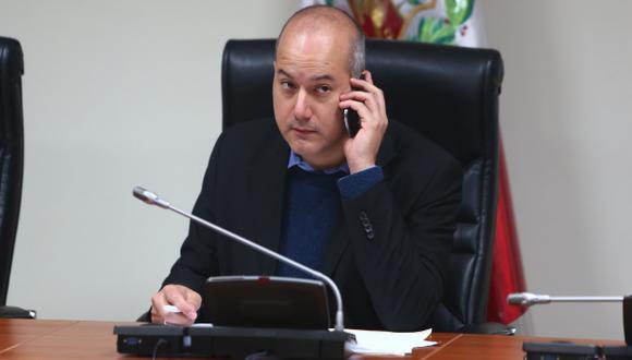 DE MALAS. Apristas amenazan con una denuncia contra el titular de la 'megacomisión'. (Rafael Cornejo)