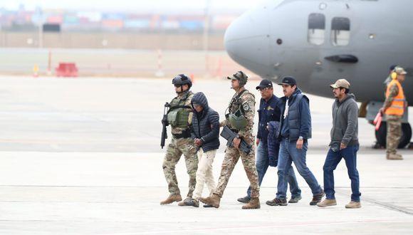 """""""Julio Chapo"""" fue capturado la madrugada del pasado viernes en Huancavelica. (Foto: Giancarlo Ávila/ GEC)"""