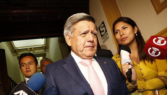 El ex candidato presidencial César Acuña es investigado por presunto lavado de activos. (Foto: USI)