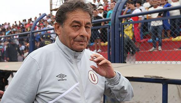 Roberto Chale siente que le ha dado mucho al fútbol. (USI)
