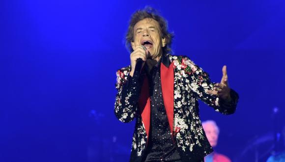 """Mick Jagger sorprende con el estreno de """"Eazy Sleazy"""" junto a Dave Grohl.  (Foto: AFP)."""
