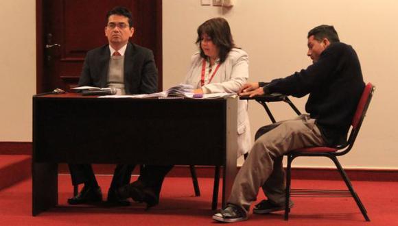 FEMINICIDIO. Denis Rivero asistió a una audiencia la tarde de ayer. (Difusión)