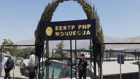 Alumno PNP se suicida. (GEC)