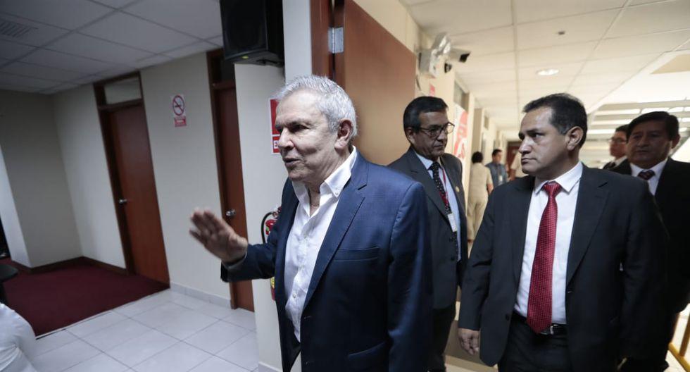 Luis Castañeda Lossio, tres veces alcalde de Lima, habría recibido dinero ilícito de Odebrecht y OAS, según el Ministerio Público. (Foto: GEC)