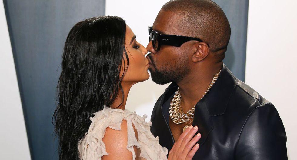 La pareja Kim Kardashian y Kanye West habrían puesto ciertas normas de convivencia para hacer sus actividades desde casa. (AFP).