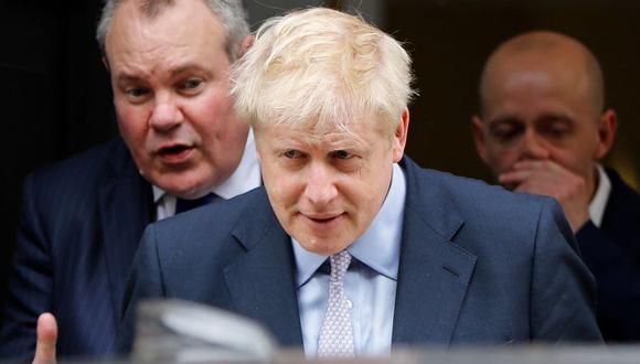 Boris Johnson encabeza la segunda votación en carrera por suceder a Theresa May. (AFP)