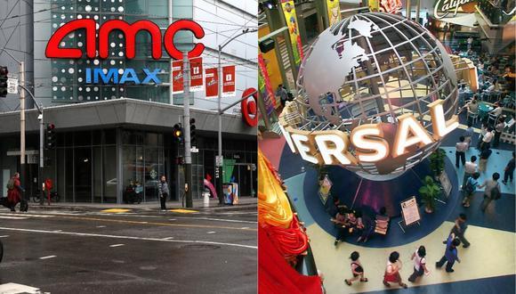 AMC advierte con no volver a proyectar las películas de Universal Studios. (Foto: AFP)