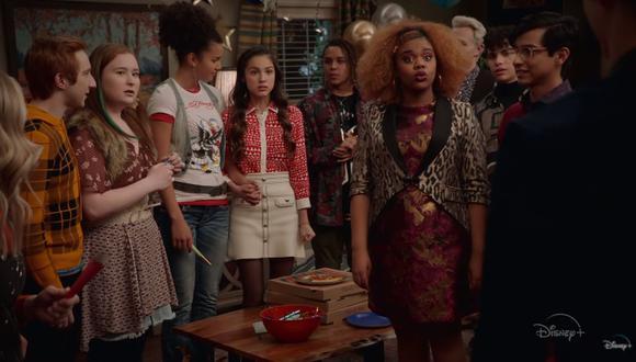 """Este viernes llega a Disney+ la segunda temporada de """"High School Musical: El Musical: La Serie"""". (Foto: Captura de video)"""