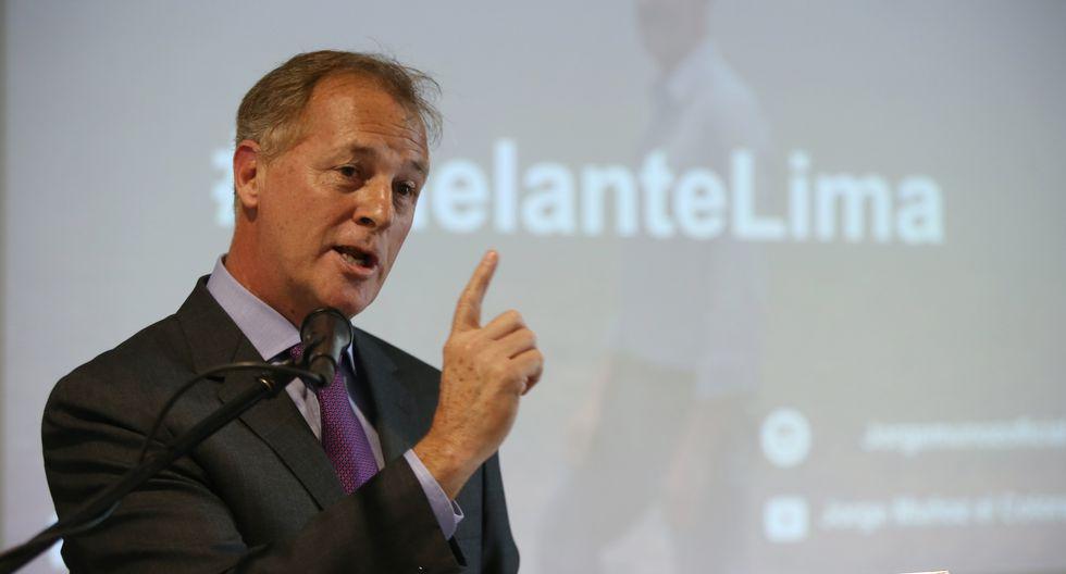 """""""Lo que tenemos que hacer es asegurar el servicio a los ciudadanos"""", dijo el alcalde electo de Lima. (GEC)"""
