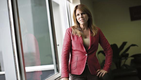 Cayetana Aljovín. Ministra de Energía y Minas. (Perú21)
