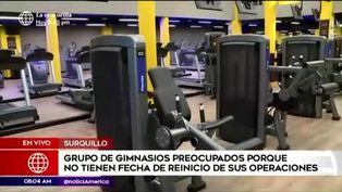 Gimnasios piden la autorización del estado para la reanudación de sus actividades