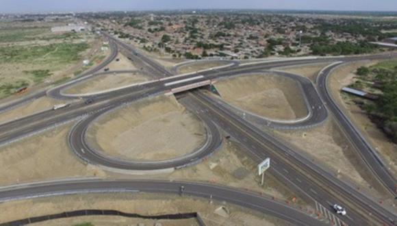 Puentes de la 'Autopista del Sol' que une La Libertad, Lambayeque y Piura, empezarán a construirse. (MTC)