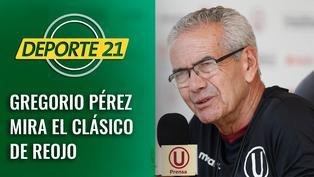 Gregorio Pérez mira el clásico de reojo