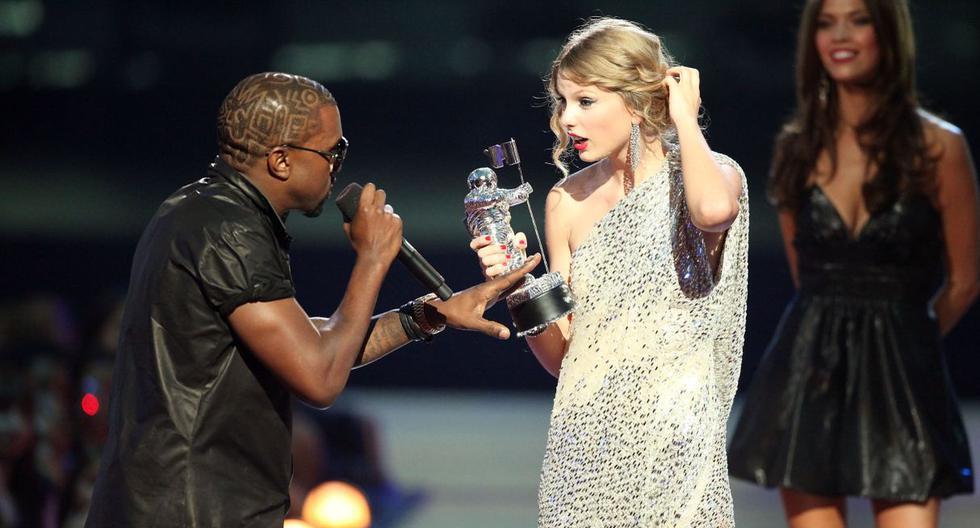 Taylor Swift y lo que escribió en su diario tras incidente con Kanye West en los MTV Video Music Award 2009. (Foto: AFP)