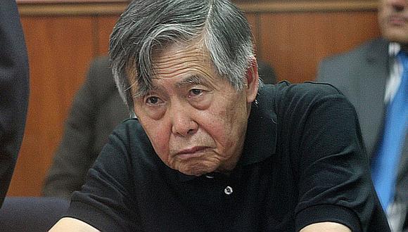 Fujimori afirmó que estaba delicado, pero no tuvo problemas en darse grandes almuerzos en prisión con candidatos. (GEC)