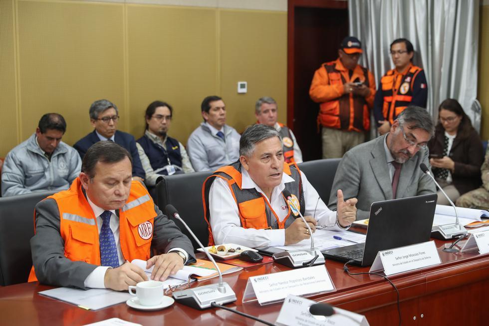 Este jueves se realizó el segundo Simulacro Nacional de Sismo y Tsunami en todo el país, organizado por el Instituto Nacional de Defensa Civil (Indeci). (Foto: Ministerio de Defensa)