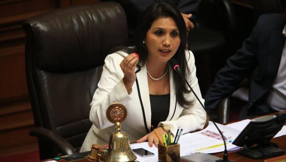 Ana María Solórzano: Oposición aseguró que no debió votar en caso Reynaga. (USI)