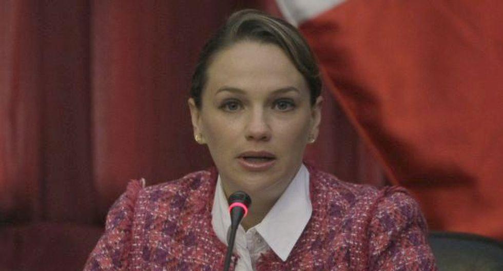 Luciana León pide propuestas. (Rafael Cornejo)
