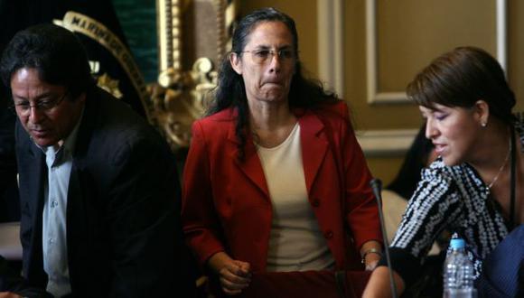 ¿Y AHORA? La ministra Patricia Salas quedó en la cuerda floja tras su presentación en el Parlamento. (David Vexelman)