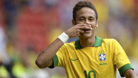 Neymar comandará el ataque brasileño. 'CR7' serán el gran ausente. (AFP)