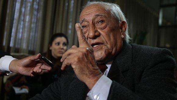 Humala padre criticó que se cree una mala imagen de su familia. (David Vexelman)