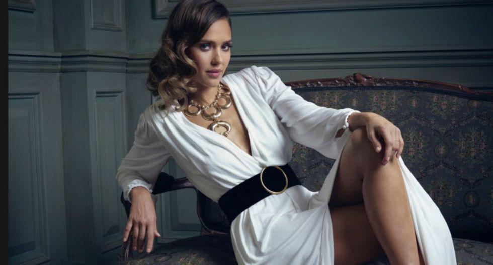 Jessica Alba. (Vanity Fair)