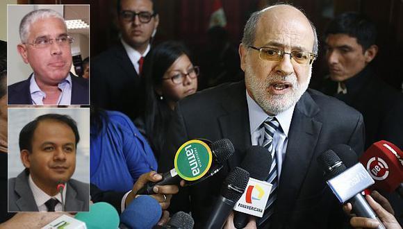 Abugattás la emprendió contra Díaz Dios y López Meneses. (USI)