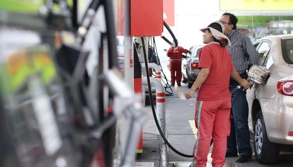 Según Opecu, la demanda diaria del diésel vehicular es de 3.1 millones de galones por día, mientras que de GLP automotor es de 790 mil galones. (Foto: GEC)