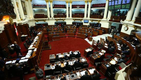 A dos meses de acabar el año, el Legislativo aún no discute el tema. (Rafael Cornejo)