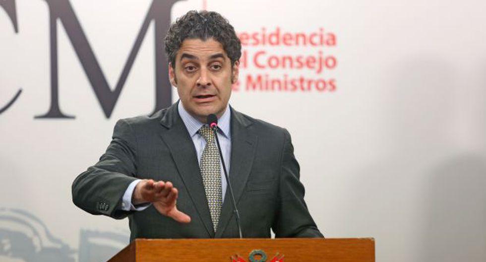 Norma también es preventiva, asegura Ivo Gagliuffi, presidente de Indecopi. (PCM Perú)