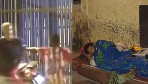 El pasado 15 de enero , Zuleta Gómez fue reconocido por su valerosa acción tras defender a Brigitte Flores de un presunto feminicidio por parte de Rojas Mogollón, quien le roció la gasolina. (Foto:Captura Buenos Días Perú)