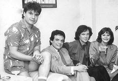 La historia detrás de la foto de Camilo Sesto, José, José, Rocío Durcal y Juan Gabriel