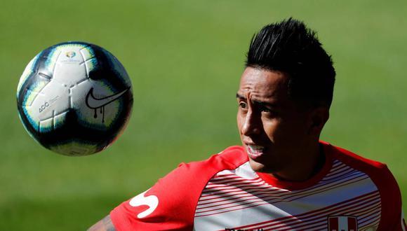 Christian Cueva está en la lista de 24 jugadores de la selección peruana. (Foto: EFE)