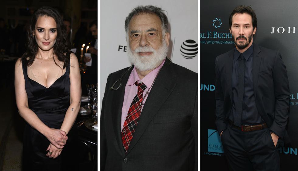 Winona Ryder y Keanu Reeves estarían casados según Francis Ford Coppola   Fotos: Getty Images/ AFP / EFE