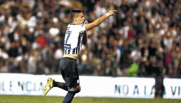 En el duelo frente a San Matín, Godoy marcó dos goles vitales para Alianza Lima. (USI)
