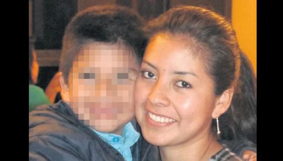 LAMENTABLE. Rosa Saravia deja en la orfandad a hijo de cinco años. (Difusión)