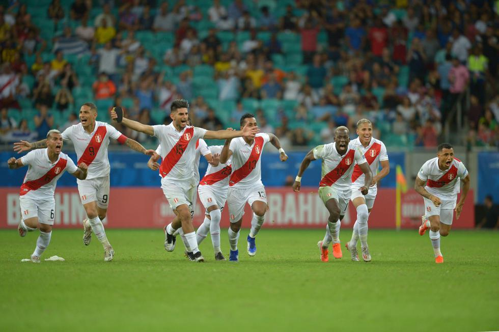 Perú vs. Uruguay: Revive el emotivo agradecimiento de Paolo Guerrero a Pedro Gallese. (AFP)
