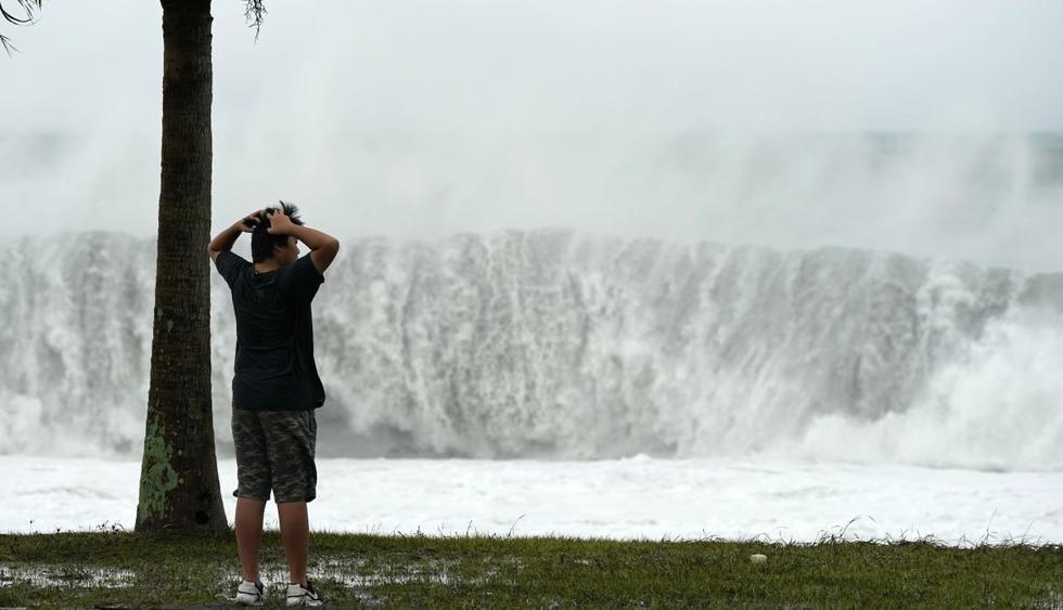 Alerta máxima por el tifón Hagibis, la peor tormenta en Japón en seis décadas. (Foto: EFE)
