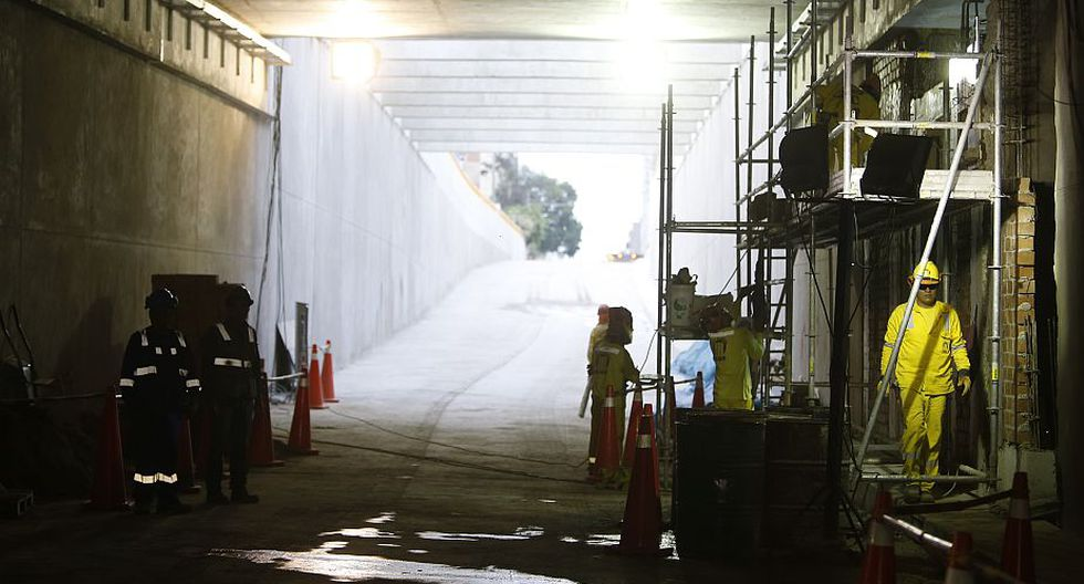 Bypass de 28 de Julio: Abrirán el tránsito desde la primera semana de abril. (Mario Zapata)