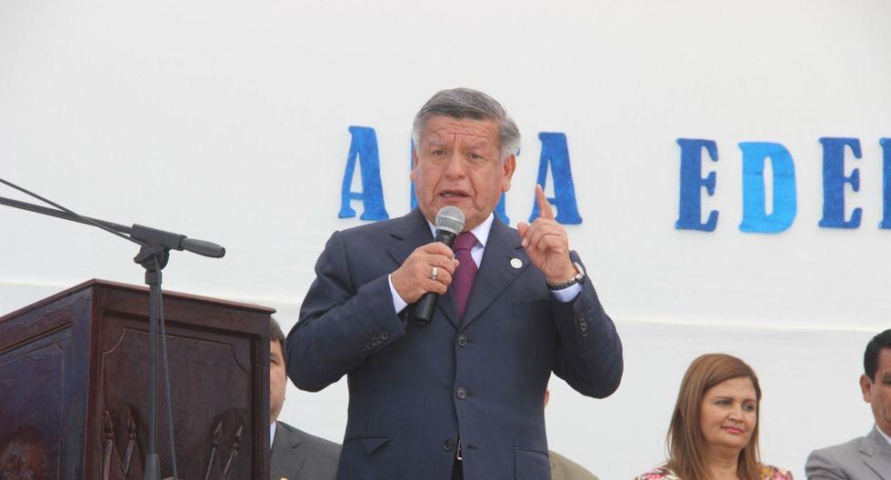 César Acuña en Trujillo.