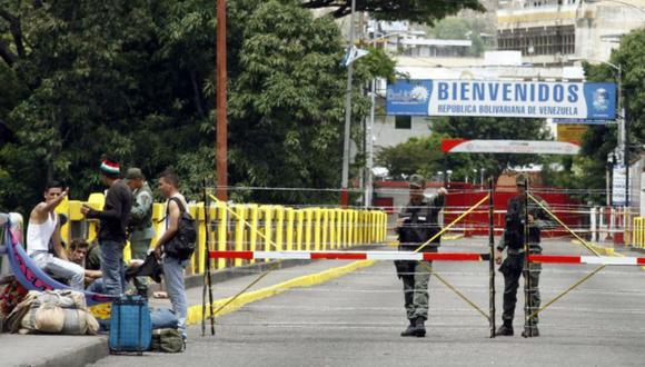 Hasta el momento, las autoridades de Colombia han manifestado que no se presenta ninguna novedad en la frontera con Venezuela. (Foto referencial: EFE)