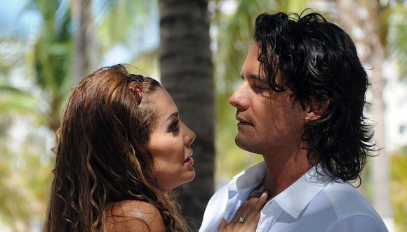 Mario Cimarro y Ninel Conde compartieron roles en Mar de amor. Pese a que los actores no se llevaba bien, intentaron trabajar juntos (Foto: Televisa)