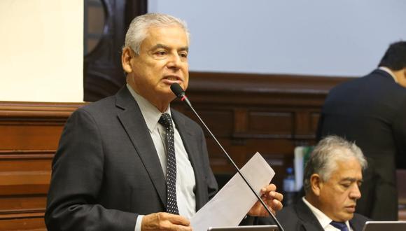 El congresista César Villanueva indicó que se deberá revisar y analizar la cuestión de confianza presentada por el Ejecutivo. (Foto: Congreso)