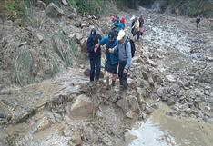 Cajamarca: Caída de huaico provoca que distrito de San Ignacio sea declarado en emergencia
