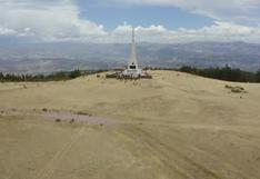 Mindef y Mincul observaron trabajos de restauración del Obelisco de la Pampa de Ayacucho [VIDEO]